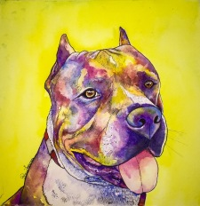 Gotti- Water colour and Ink